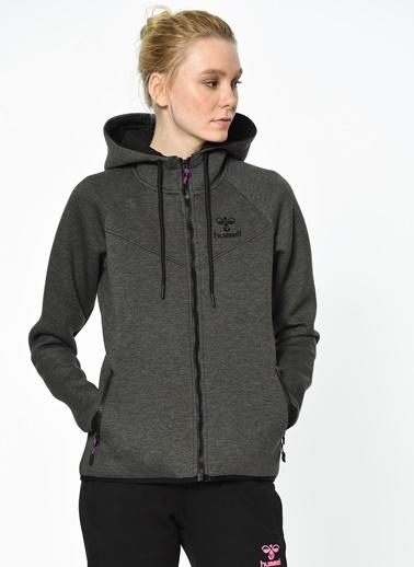 Kapüşonlu Fermuarlı Polar Sweatshirt Hummel